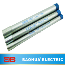GI class 4 BS4568 Electrical conduit pipe