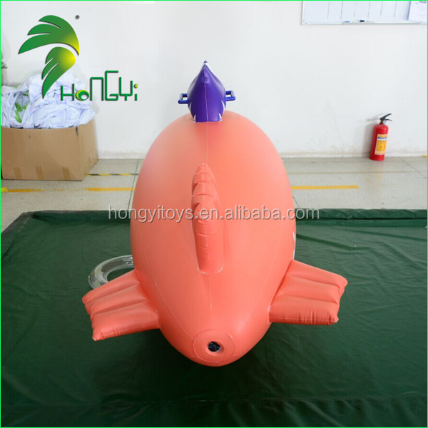 Outdoor Advertising Customized PVC Inflatable Helium Blimp Balloon Toy For Sale