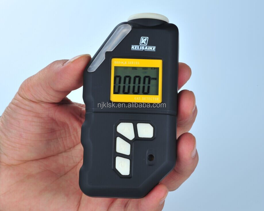 Underground exploration gas safety ensure portable h2s gas detector
