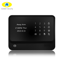 868/433 Mhz home alarm system Advanced WIFI technology with GSM GPRS & wireless security alarm take care of your home