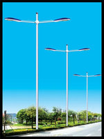low price excellent galvanized Steel Material Octagonal Street Light Pole with Specification