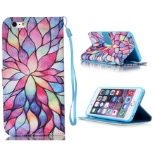 Sublimation Leather Phone Case for iPhone 7 With Different Designs