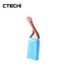 CTECHI 12V 500mAh Lipo Rechargeable RC Battery