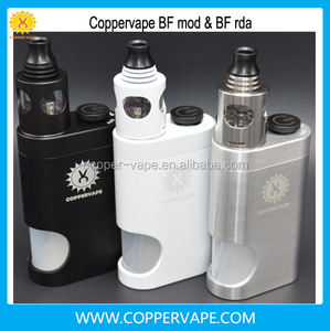 Coppervape serpent mini rta Brass bf mod bottom feeder colorful serpent rta in stock now