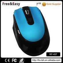 4 button 2.4g OEM cordless optical mouse in shenzhen China