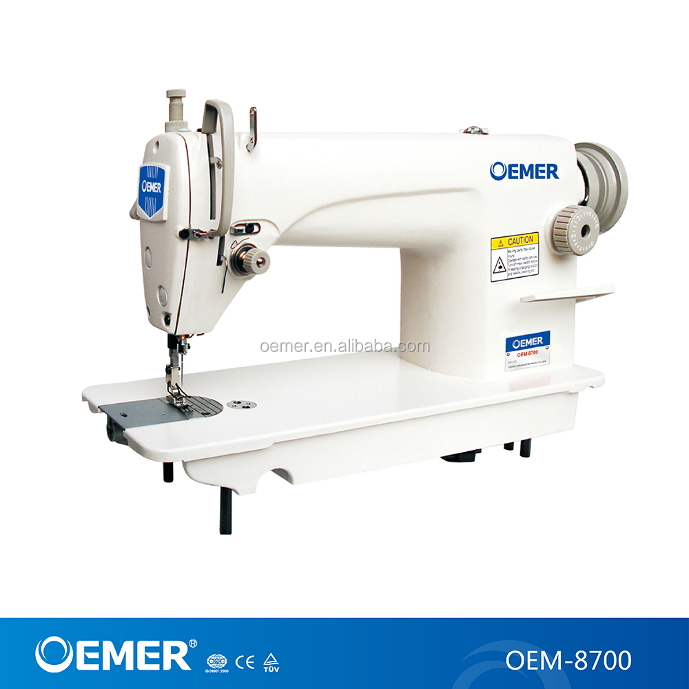 HIGH SPEED LOCKSTITCH INDUSTRIAL SEWING MACHINE OEM-8700