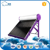 2016 Jiaxing Chinatide & OEM SABS Unpressurized Solar water calentador