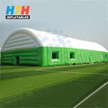 biggest inflatable tennis dome