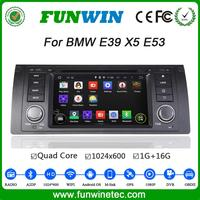 Funwin Android Car Dvd Audio System For BMW 5 Series E39 E38 Support 3g Wifi Mirror Link