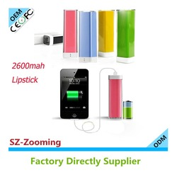 Z-110 3000mah portable power bank charger review power bank 2600mah small size mobile phones