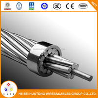 Overhead Line Bare Aluminum Stranded Conductor HDA Wasp AAC 100mm