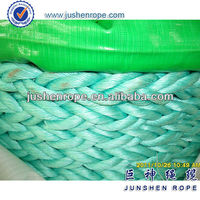 Anchor rope fluorescent 8 strand nylon rope