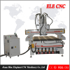 Multi spindles woodworking machine for cabinet doors production line