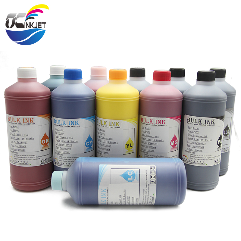 Ocinkjet 1000ML <strong>12</strong> Colors Genuine High Quality Pigment Ink For Canon IPF 5100 6100