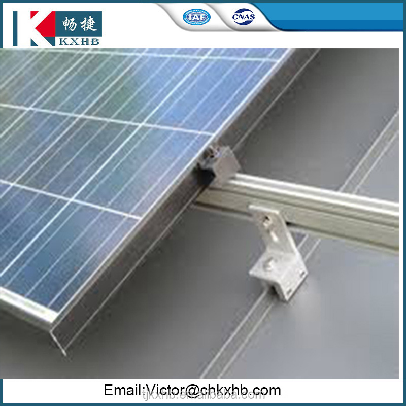 Best sale metal roof solar mount for solar power system home