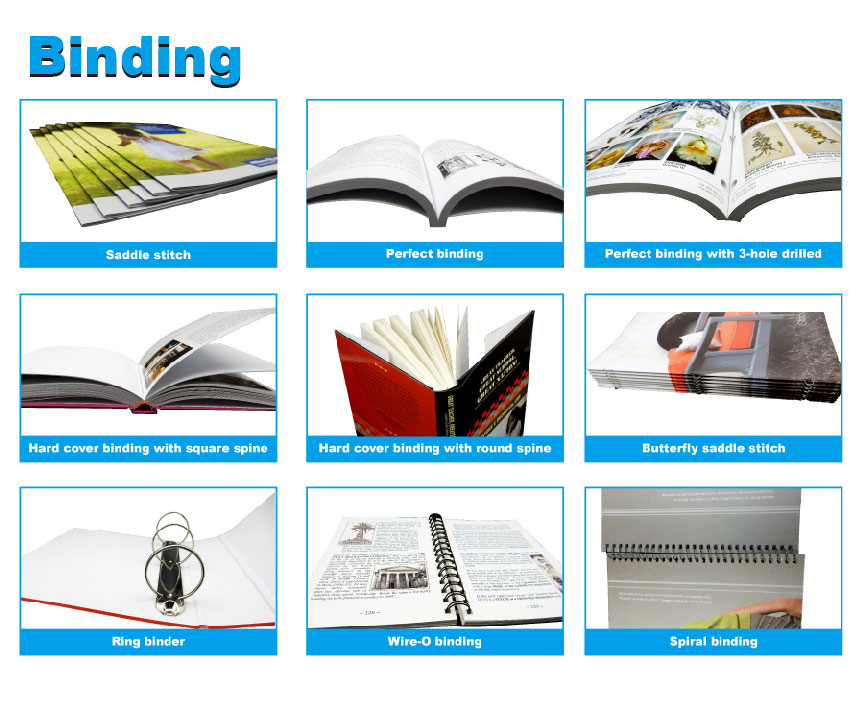 Well designed small quantity catalogue with tab printing