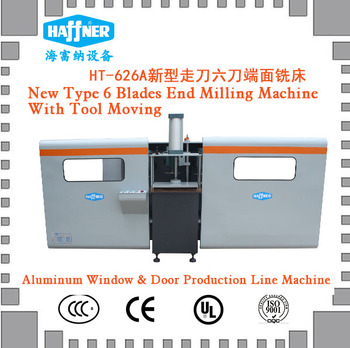 End Milling Machine for Aluminum Profile Material