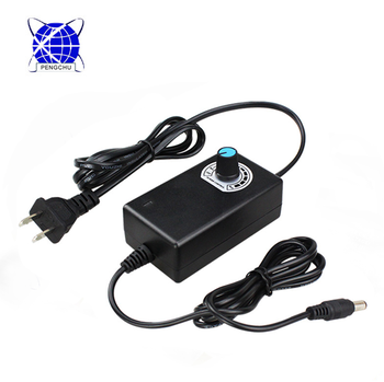 Variable voltage ac dc adapter 3-12v wall desktop adjustable charger 2a