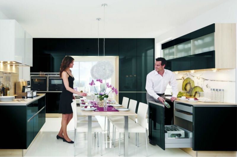 China zwarte kleur lak moderne keuken kasten keuken kasten product id 60022266498 - Meubilair zwarte keuken lak ...
