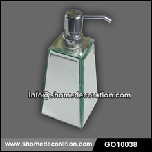 2015 Hot Sale Bathroom Glass 250mm Liquid Soap Bottle