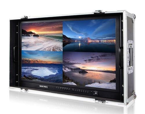 "SEETEC 23.8"" IPS Carry-on Broadcast 4k screen resolution monitor for Monitoring & Making Film"