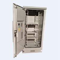 High quality cabin air conditioning for outdoor solar powered telecom cabinets