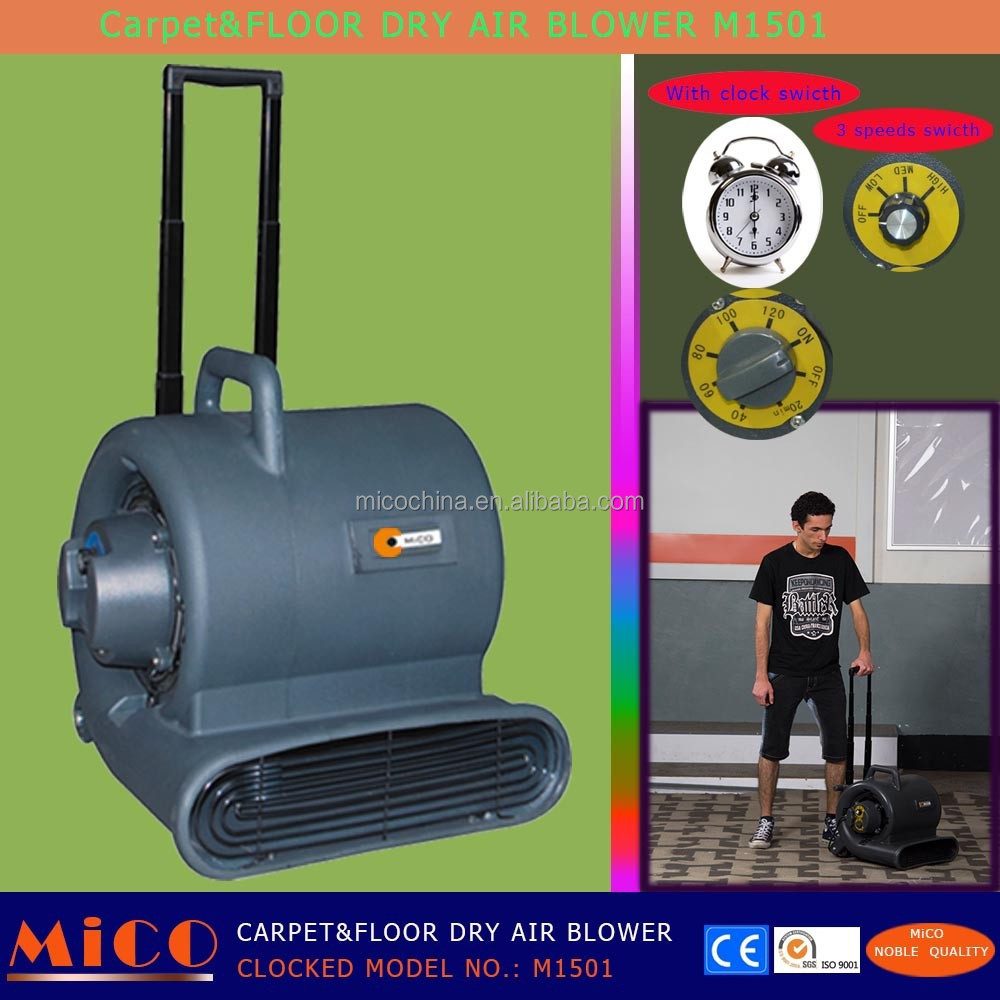 Mini Air Blower for Wet Carpet with Clock M1501