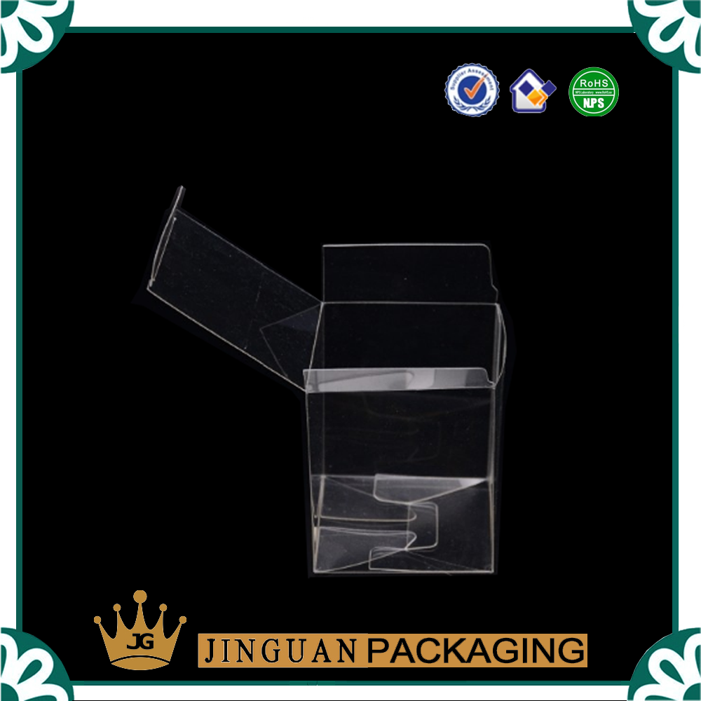 High quanlity wholesale Clear PVC hard plastic packaging box