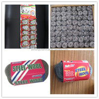 cleaning ball tennis ball / steel wool pads roll