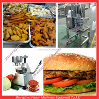 Automatic/Manual burger machinery patties/frozen patties machine