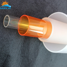 Many Size Clear Hollow Acrylic Tube 100% Virgin Material