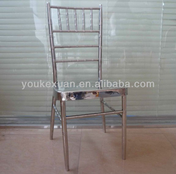 High quality stainless steel chiavari chair HC-8033C