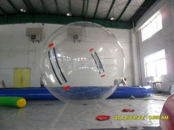 Fwulong new product for inflatable water bounce ball