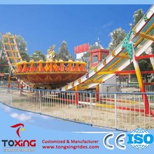 Amusement Park Large Outdoor Equipment Thrilling Rides Flying UFO For Sale