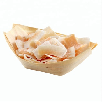 """6"""" 7"""" 8"" Disposable Wooden boat Sushi Plate"