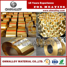 Insulated Copper Strip Brass Coil In High Quality Brass Strip