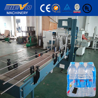 Touch Control Automatic Bottled Film Shrink Wrapping Packing Machine