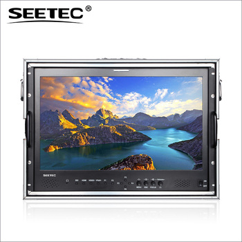 SEETEC broadcast 22 inch monitor with speakers 1920*1080 resolution