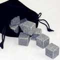 Low price and high quality granite whisky stone set(9pcs/set)
