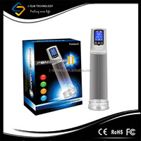LED Automatic Auto suck electric pumps penis enlargement machine, male electric penis enlargement penis enlargement vacuum pump