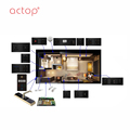ACTOP New Arrive Smart Hotel Control Network Control Smart Hotel Light , Curtain ,Tempeture Controller
