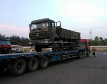 Military Quality All Terrain Lorry Truck BEIBEN AWD 4x4 Off-Road Cargo Truck