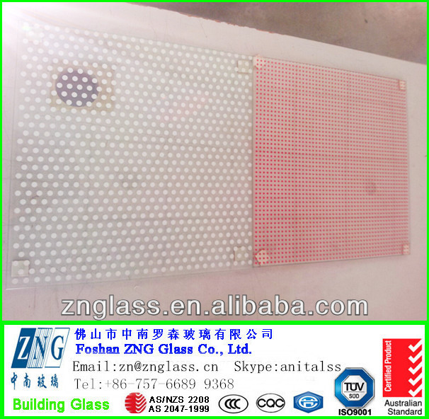 4mm 5mm 6mm 8mm 10mm 12mm 15mm color glaze ceramic frit patterned tempered building glass with CCC&AS/NZS&ISO for curtain wall