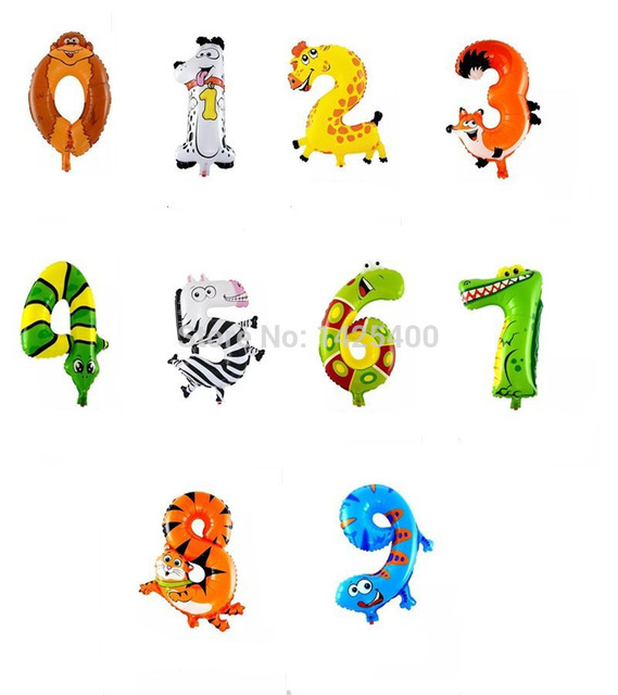 The new aluminum balloons balloon animals for children 0-9 birthday balloons wholesale toys