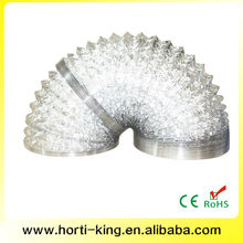 12 Inch Non-insulated Flexible Aluminum Foil Air Duct for Ventilation