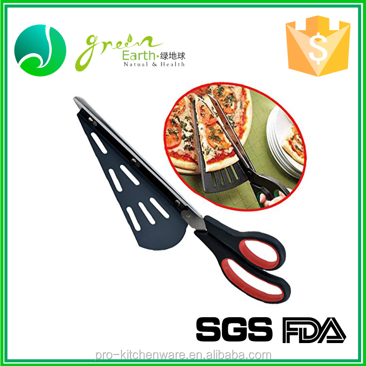 Promotional pizza scissors / bicycle pizza wheel cutter rocker