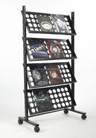magazine rack wrought iron