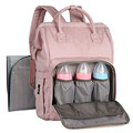 New design adult Baby diaper bags form Mum and Dad with changing pad