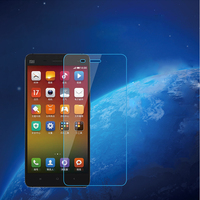 9H Anti-fingerprint tempered glass screen protector for Xiaomi Anti blue light film wholesale