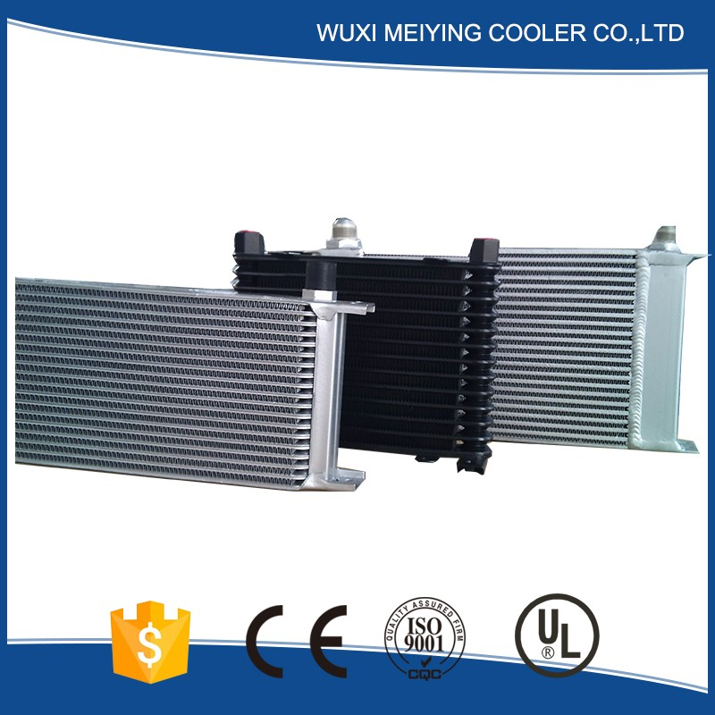 Professional factory quantity assured plate&bar china ac power hydraulic fan package oil cooler for sale